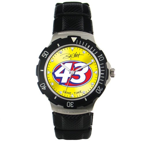 GAME TIME  BOBBY LABONTE #43  AGENT SERIES WATCH LIFETIME WARRANTY FREE SHIPPING