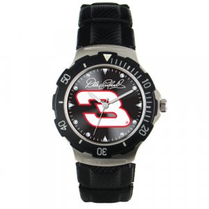 GAME TIME  DALE EARNHARDT #3  AGENT SERIES WATCH LIFETIME WARRANTY FREE SHIPPING