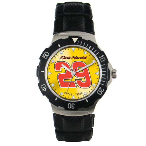 GAME TIME  KEVIN HARVICK #29  AGENT SERIES WATCH LIFETIME WARRANTY FREE SHIPPING