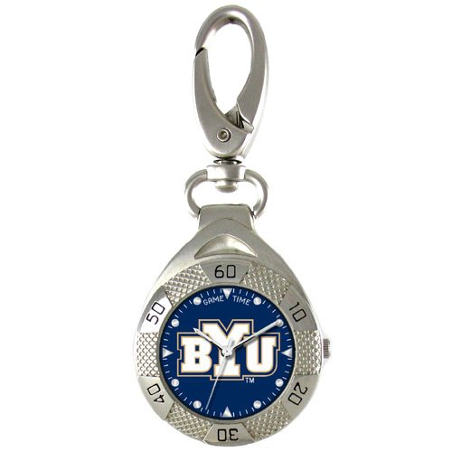 GAME TIME BRIGHAM YOUNG COUGARS CLIP ON WATCH GRANDSTAND SERIES FREE SHIPPING LIFETIME WARRANTY