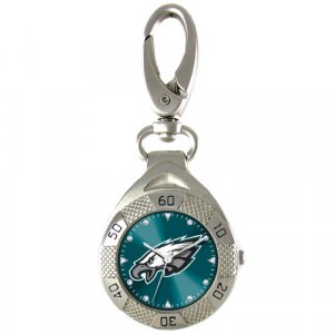 GAME TIME  PHILADELPHIA EAGLES CLIP ON WATCH GRANDSTAND SERIES FREE SHIPPING LIFETIME WARRANTY