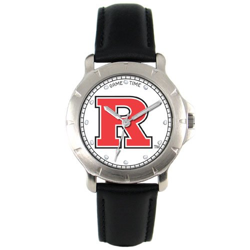 GAME TIME  RUTGERS  SCARLET KNIGHTS PLAYER SERIES WATCH LIFETIME WARRANTY FREE SHIPPING