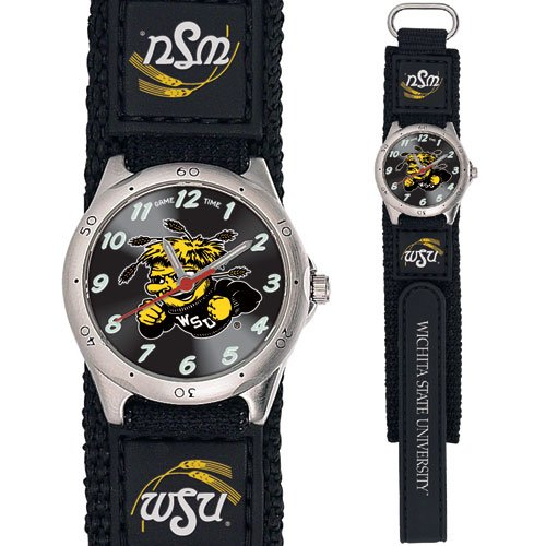 GAME TIME  WICHITA STATE SHOCKERS FUTURE STAR SERIES  WATCH LIFETIME WARRANTY FREE SHIPPING
