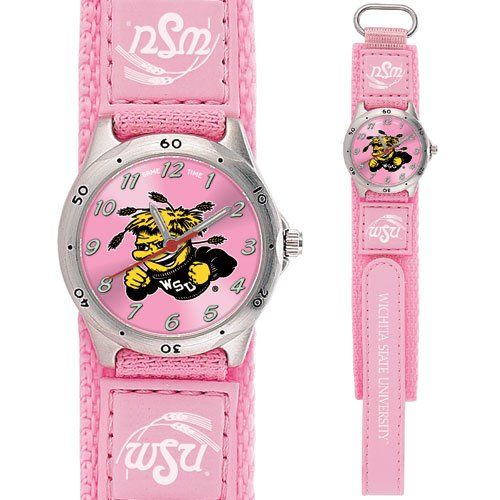 GAME TIME  WICHITA STATE SHOCKERS FUTURE STAR SERIES PINK  WATCH LIFETIME WARRANTY FREE SHIPPING
