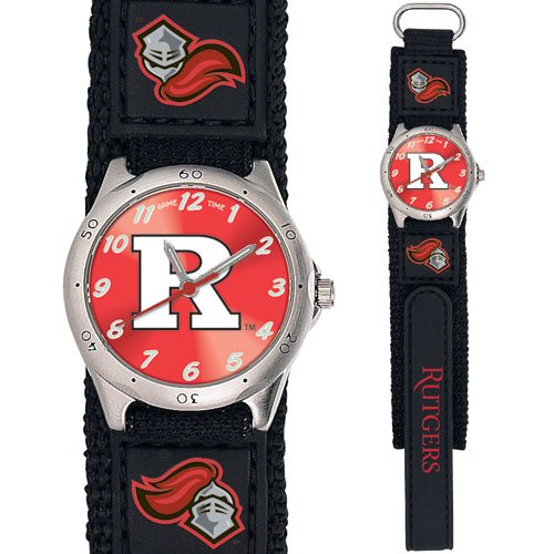 GAME TIME  RUTGERS  SCARLET KNIGHTS FUTURE STAR SERIES WATCH PINK LIFETIME WARRANTY FREE SHIPPING