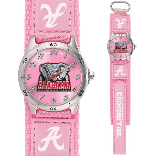 GAME TIME  ALABAMA CRIMSON TIDE FUTURE STAR SERIES WATCH PINK LIFETIME WARRANTY FREE SHIPPING