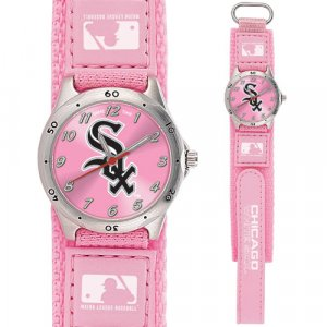 GAME TIME  CHICAGO WHITE SOX FUTURE STAR SERIES WATCH PINK LIFETIME WARRANTY FREE SHIPPING