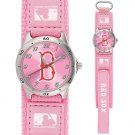 GAME TIME  BOSTON RED SOX FUTURE STAR SERIES WATCH PINK LIFETIME WARRANTY FREE SHIPPING