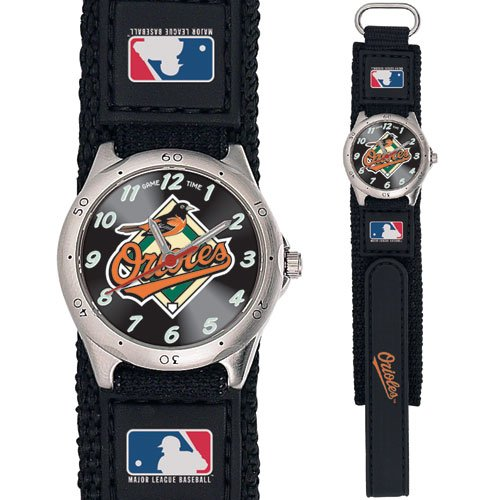 GAME TIME  BALTIMORE ORIOLES FUTURE STAR SERIES WATCH LIFETIME WARRANTY FREE SHIPPING