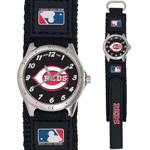 GAME TIME  CINCINNATI REDS FUTURE STAR SERIES WATCH LIFETIME WARRANTY FREE SHIPPING