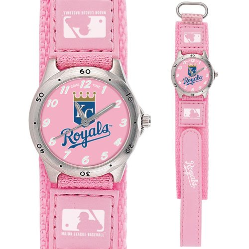GAME TIME  KANSAS CITY ROYALS FUTURE STAR SERIES WATCH PINK LIFETIME WARRANTY FREE SHIPPING