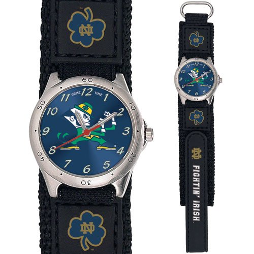 GAME TIME  NOTRE DAME FIGHTIN IRISH FUTURE STAR SERIES WATCH LIFETIME WARRANTY FREE SHIPPING