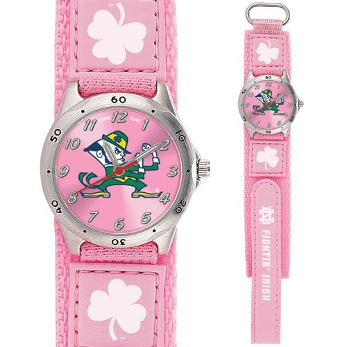 GAME TIME NOTRE DAME FIGHTIN IRISH FUTURE STAR SERIES WATCH (PINK) LIFETIME WARRANTY FREE SHIPPING
