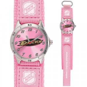 GAME TIME  ANAHEIM DUCKS FUTURE STAR SERIES WATCH PINK LIFETIME WARRANTY FREE SHIPPING