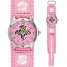 GAME TIME  FLORIDA PANTHERS FUTURE STAR SERIES WATCH PINK LIFETIME WARRANTY FREE SHIPPING