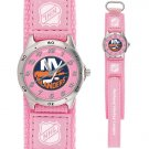 GAME TIME  NEW YORK ISLANDERS FUTURE STAR SERIES WATCH PINK LIFETIME WARRANTY FREE SHIPPING