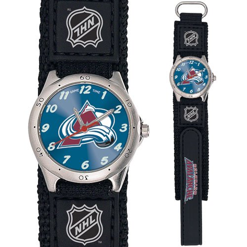 GAME TIME  COLORADO AVALANCHE FUTURE STAR SERIES WATCH LIFETIME WARRANTY FREE SHIPPING
