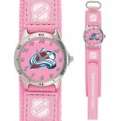 GAME TIME  COLORADO AVALANCHE FUTURE STAR SERIES WATCH (PINK) LIFETIME WARRANTY FREE SHIPPING