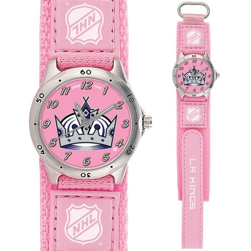 GAME TIME  LOS ANGELES KINGS FUTURE STAR SERIES WATCH (PINK) LIFETIME WARRANTY FREE SHIPPING