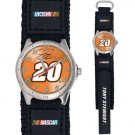 GAME TIME  TONY STEWART #20 FUTURE STAR SERIES WATCH LIFETIME WARRANTY FREE SHIPPING