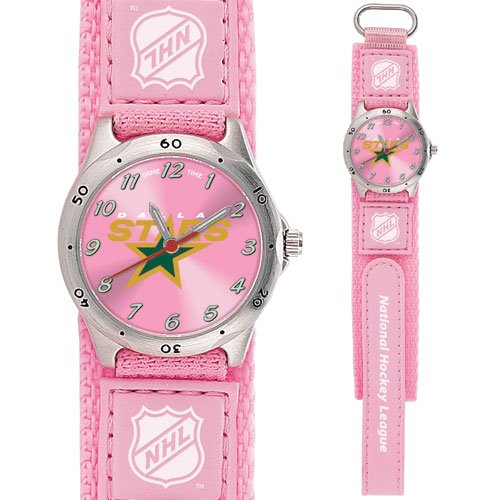 GAME TIME DALLAS STARS FUTURE STAR SERIES WATCH PINK FREE SHIPPING LIFETIME WARRANTY