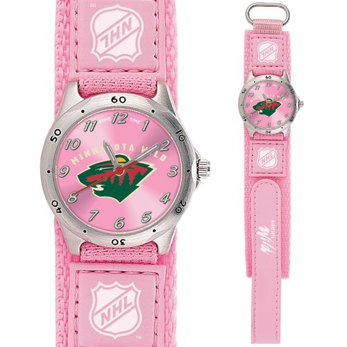 GAME TIME MINNESOTA WILD FUTURE STAR SERIES WATCH PINK FREE SHIPPING LIFETIME WARRANTY
