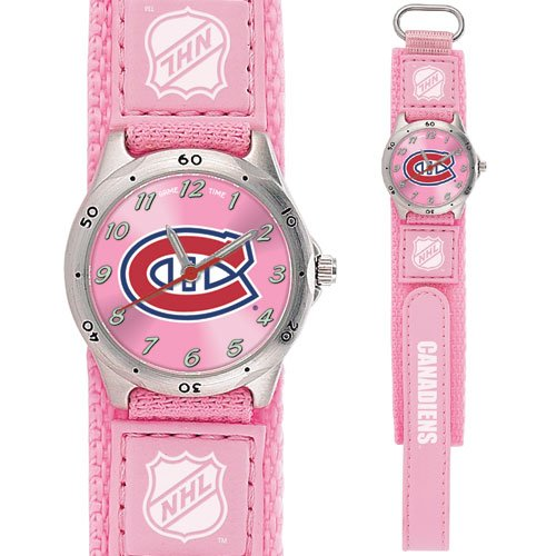 GAME TIME MONTREAL CANADIENS FUTURE STAR SERIES PINK WATCH FREE SHIPPING LIFETIME WARRANTY