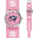 GAME TIME COLUMBUS BLUE JACKETS FUTURE STAR SERIES WATCH PINK FREE SHIPPING LIFETIME WARRANTY