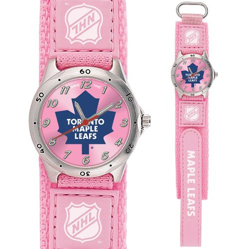 GAME TIME TORONTO MAPLE LEAFS FUTURE STAR SERIES PINK WATCH FREE SHIPPING LIFETIME WARRANTY