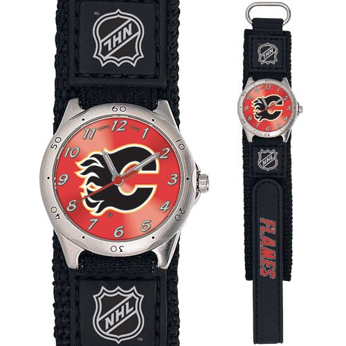 GAME TIME CALGARY FLAMES FUTURE STAR SERIES WATCH FREE SHIPPING LIFETIME WARRANTY