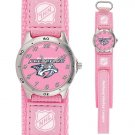 GAME TIME NASHVILLE PREDATORS FUTURE STAR SERIES PINK WATCH FREE SHIPPING LIFETIME WARRANTY