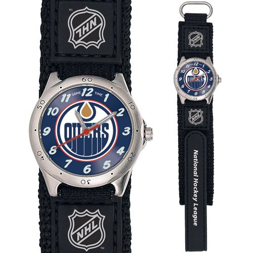 GAME TIME EDMONTON OILERS FUTURE STAR SERIES WATCH FREE SHIPPING LIFETIME WARRANTY