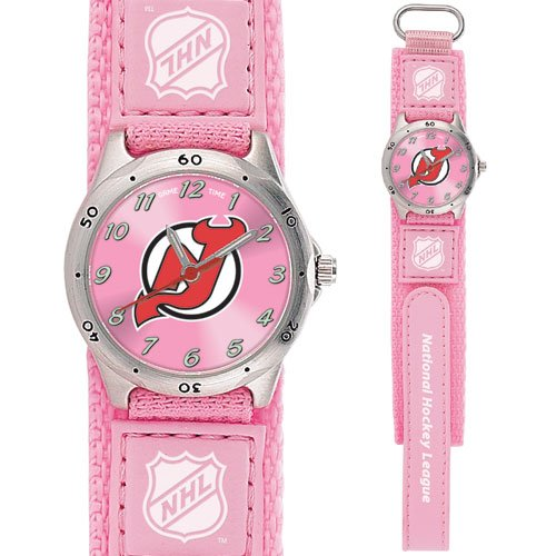 GAME TIME NEW JERSEY DEVILS FUTURE STAR SERIES PINK WATCH FREE SHIPPING LIFETIME WARRANTY