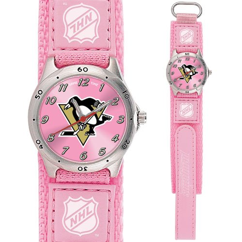 GAME TIME PITTSBURGH PENGUINS FUTURE STAR SERIES PINK WATCH FREE SHIPPING LIFETIME WARRANTY