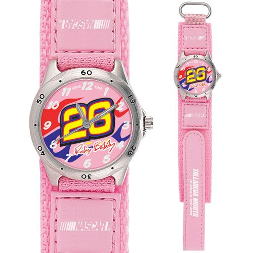 GAME TIME  RICKY BOBBY #26 FUTURE STAR SERIES WATCH PINK LIFETIME WARRANTY FREE SHIPPING