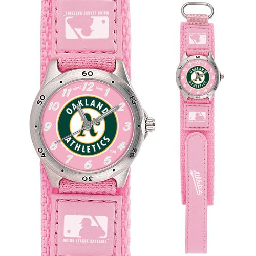 GAME TIME  OAKLAND ATHLETICS FUTURE STAR SERIES WATCH PINK LIFETIME WARRANTY FREE SHIPPING