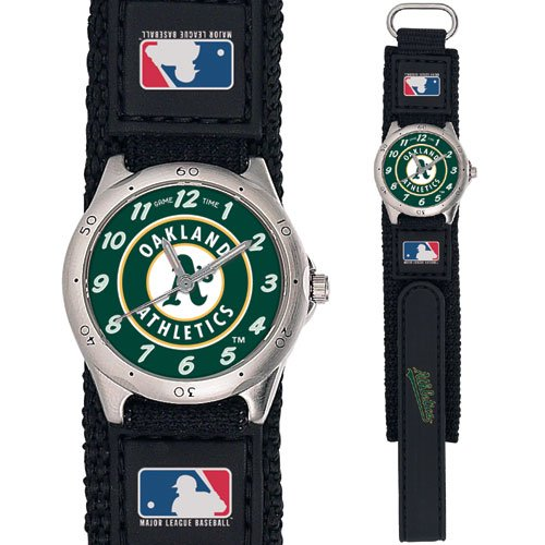 GAME TIME  OAKLAND ATHLETICS FUTURE STAR SERIES WATCH LIFETIME WARRANTY FREE SHIPPING