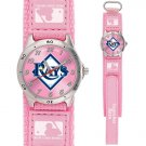 GAME TIME  TAMPA BAY DEVIL RAYS FUTURE STAR SERIES WATCH PINK LIFETIME WARRANTY FREE SHIPPING
