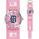 GAME TIME  DETROIT TIGERS FUTURE STAR SERIES WATCH PINK LIFETIME WARRANTY FREE SHIPPING