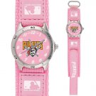 GAME TIME  PITTSBURGH PIRATES FUTURE STAR SERIES WATCH PINK LIFETIME WARRANTY FREE SHIPPING