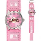 GAME TIME  SAN FRANCISCO GIANTS FUTURE STAR SERIES WATCH PINK LIFETIME WARRANTY FREE SHIPPING