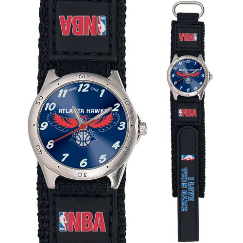 GAME TIME ATLANTA HAWKS FUTURE STAR SERIES WATCH LIFETIME WARRANTY FREE SHIPPING