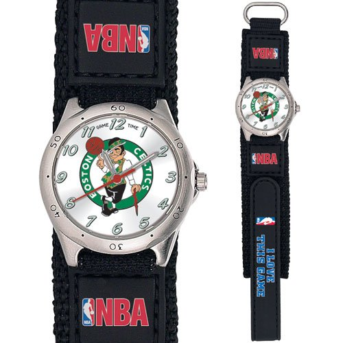 GAME TIME  BOSTON CELTICS FUTURE STAR SERIES WATCH LIFETIME WARRANTY FREE SHIPPING