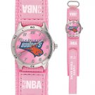 GAME TIME  CHARLOTTE BOBCATS FUTURE STAR SERIES WATCH PINK LIFETIME WARRANTY FREE SHIPPING