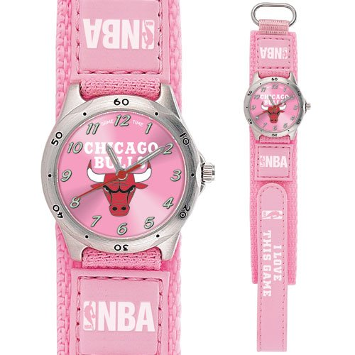 GAME TIME  CHICAGO BULLS FUTURE STAR SERIES WATCH PINK LIFETIME WARRANTY FREE SHIPPING