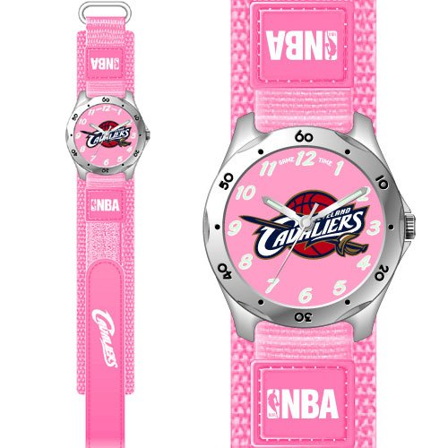 GAME TIME  CLEVELAND CAVALIERS FUTURE STAR SERIES WATCH PINK LIFETIME WARRANTY FREE SHIPPING
