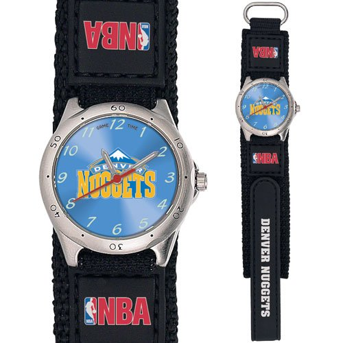 GAME TIME  DENVER NUGGETS FUTURE STAR SERIES WATCH LIFETIME WARRANTY FREE SHIPPING