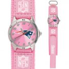 NEW ENGLAND PATRIOTS FUTURE STAR SERIES PINK WATCH LIFETIME WARRANTY FREE SHIPPING