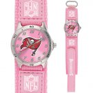 TAMPA BAY BUCCANEERS FUTURE STAR SERIES PINK WATCH LIFETIME WARRANTY FREE SHIPPING