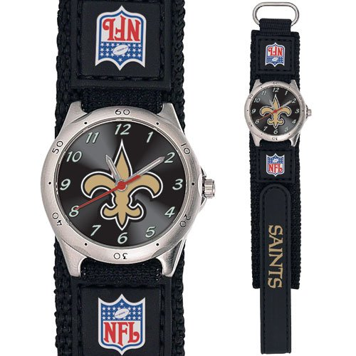 NEW ORLEANS SAINTS FUTURE STAR SERIES WATCH LIFETIME WARRANTY FREE SHIPPING
